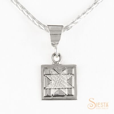 Sterling Silver Mini North Star Pendant
